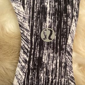 Lululemon abstract racerback top